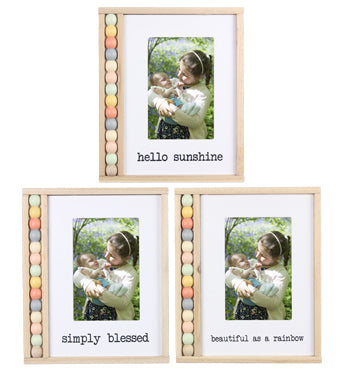 Rainbow Bead - Photo Frame