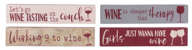 Wine Lovers - Mini Signs