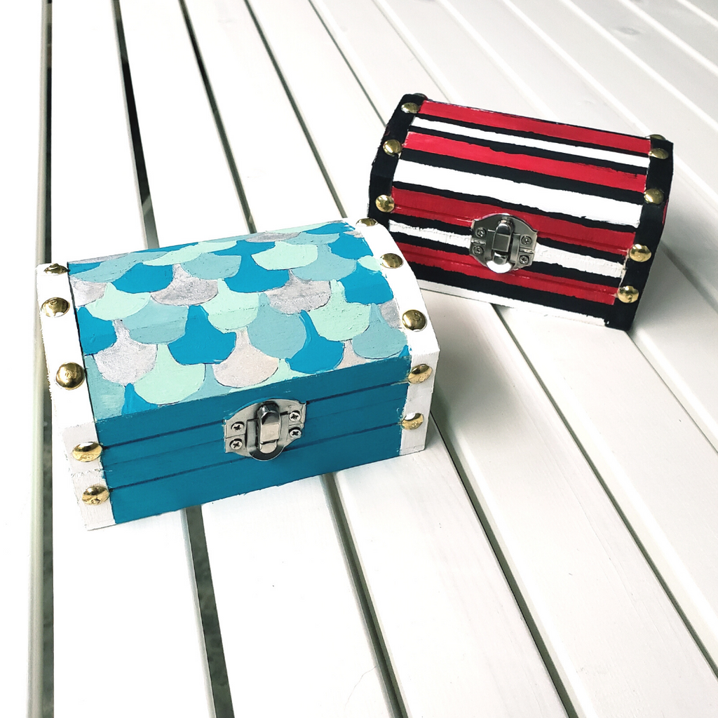 Treasure Chest Painting Craft Kit