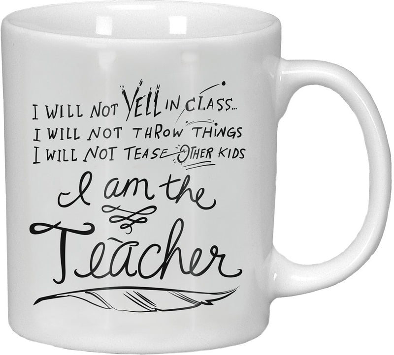 I am the Teacher - Mug