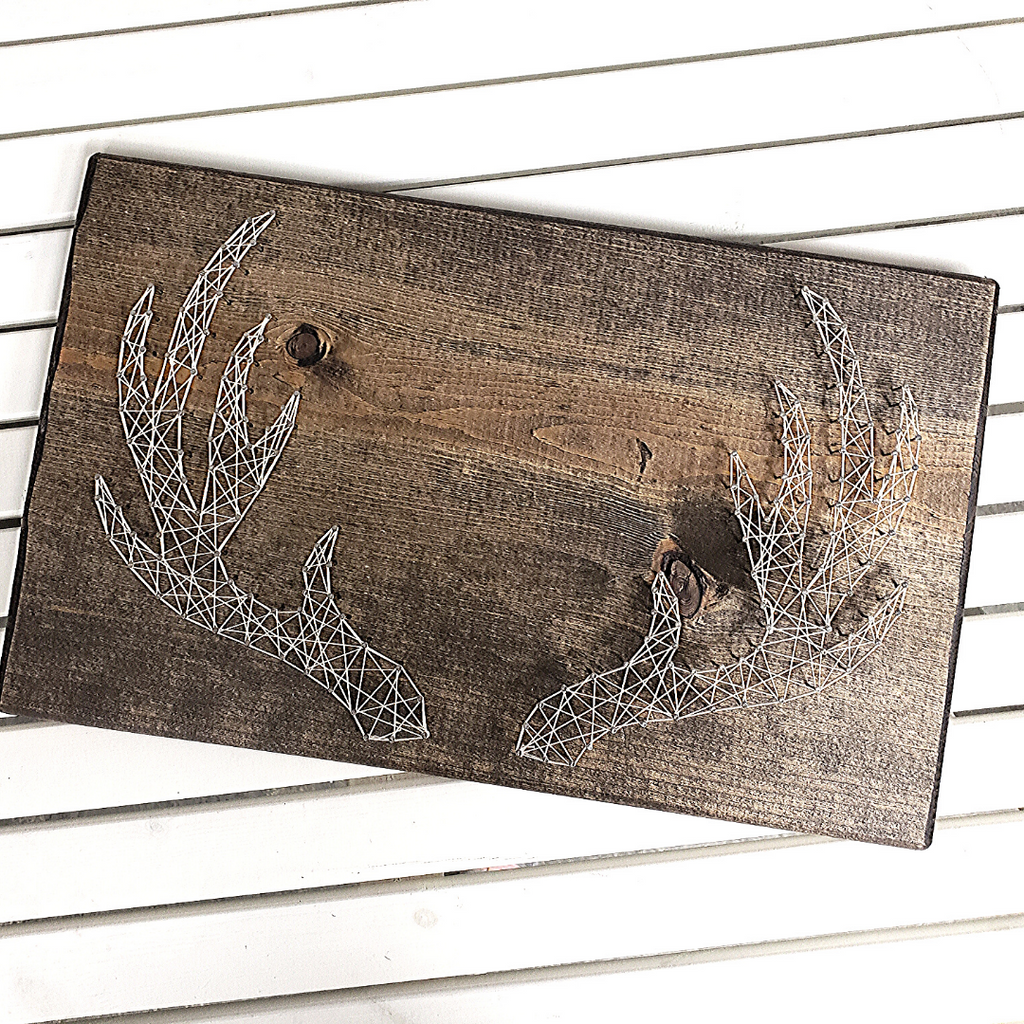 Antler String Art Craft Kit