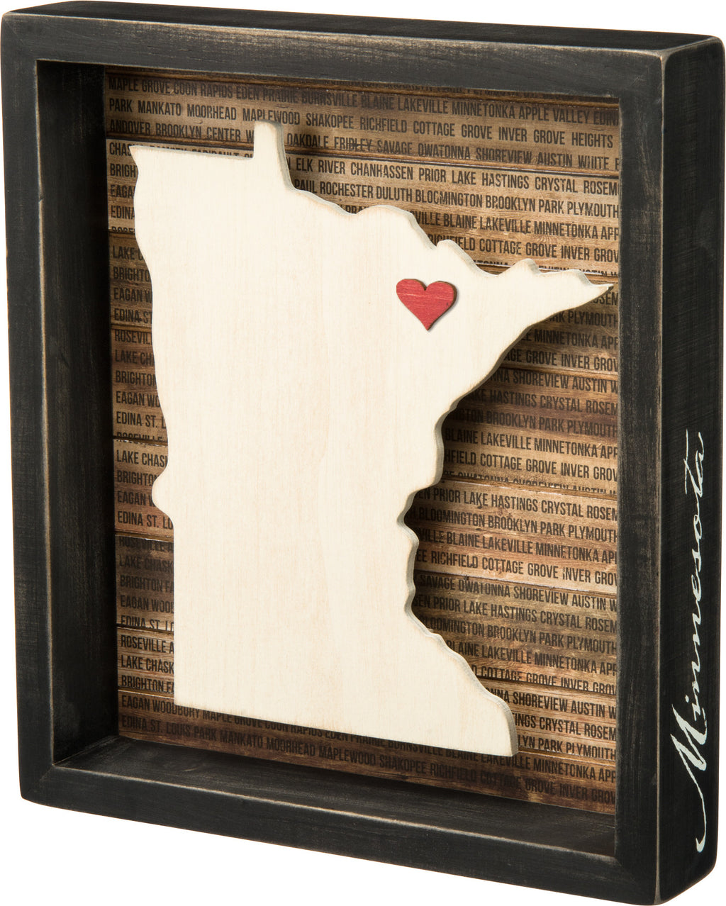 Minnesota Sign with Heart