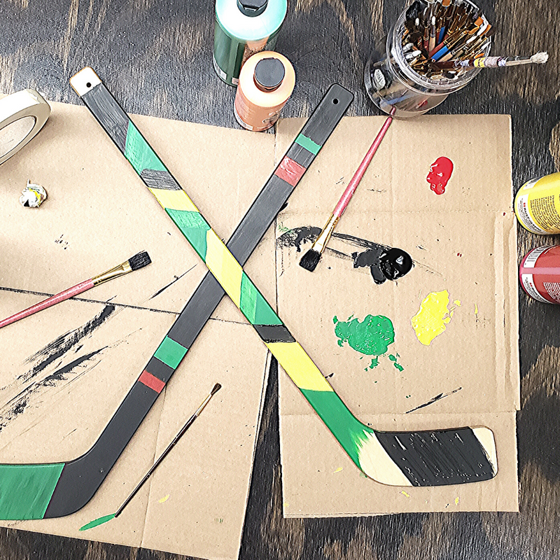 Hockey Stick Painting Craft Kit