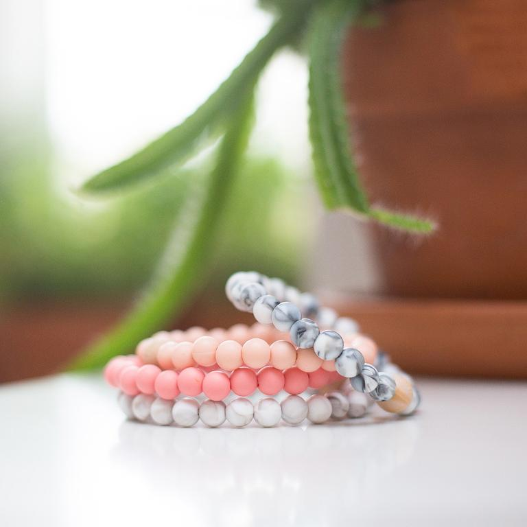 Carson Coral - Teething Bracelet