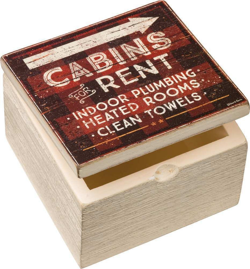 Cabins - Wooden Box
