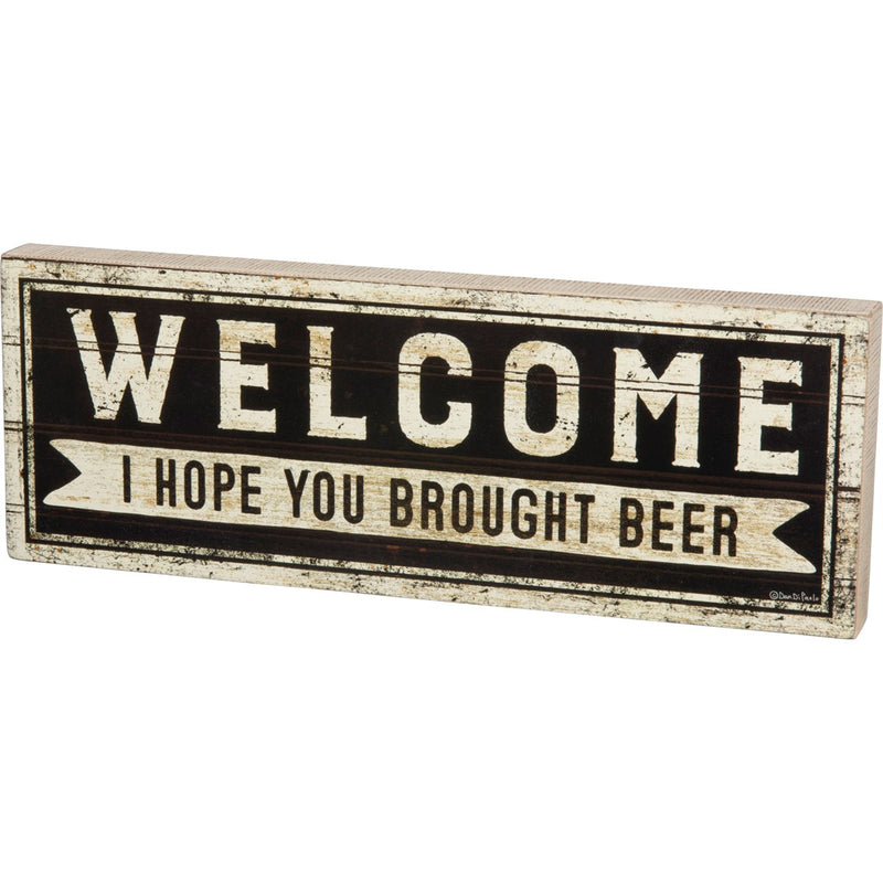 Brought Beer - Sign