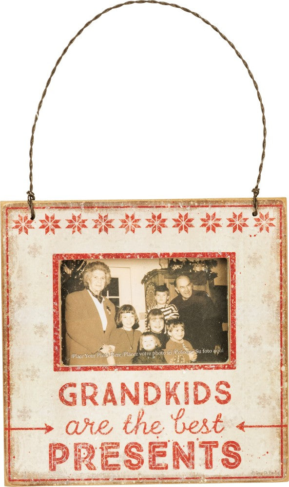 Grandkids - Mini Frame Ornament