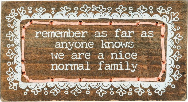 Nice Normal Family - Magnet
