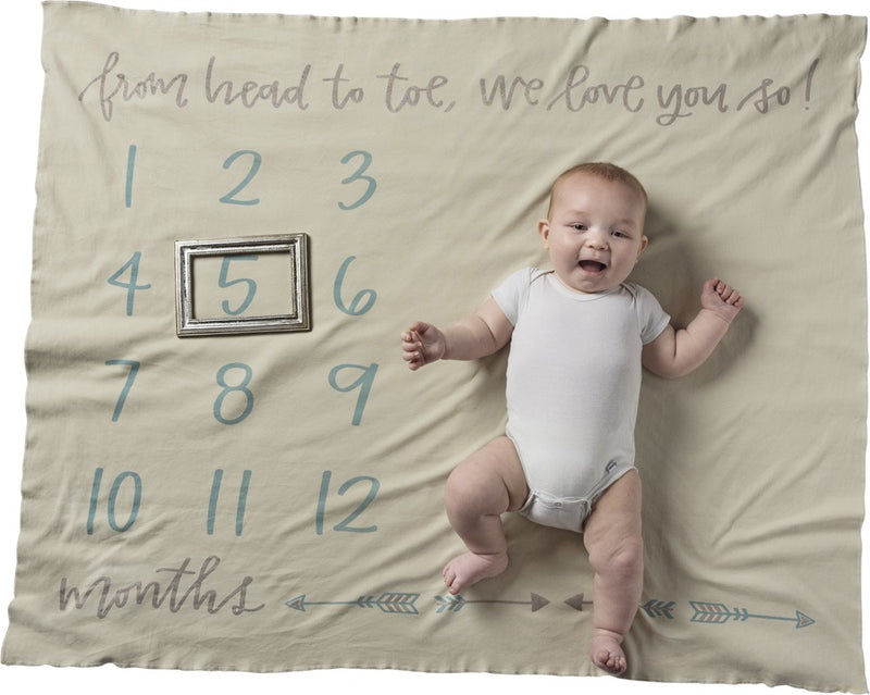 Little Ones - Milestone Blankets