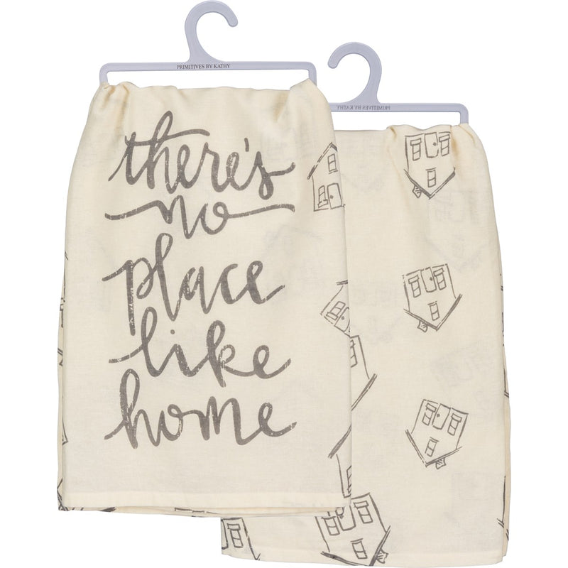 No Place Like Home - Dish Towel