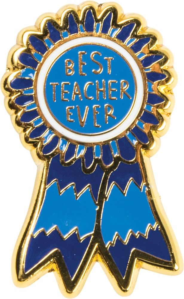 Best Teacher Ever - Enamel Pin