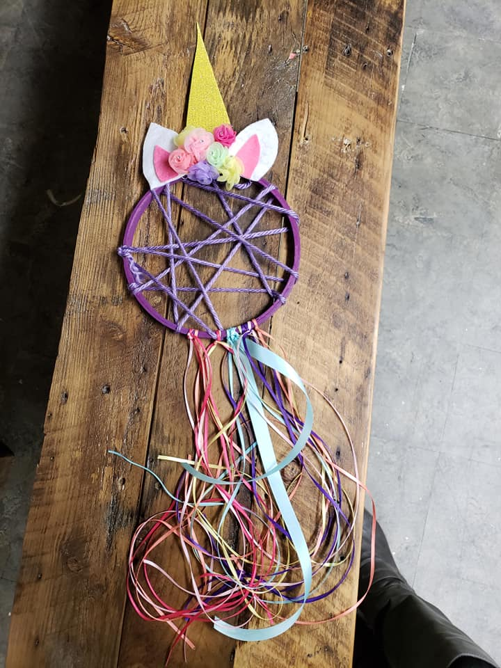 Unicorn Dream Catcher Craft Kit