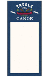 Paddle Your Own Canoe - Notepad