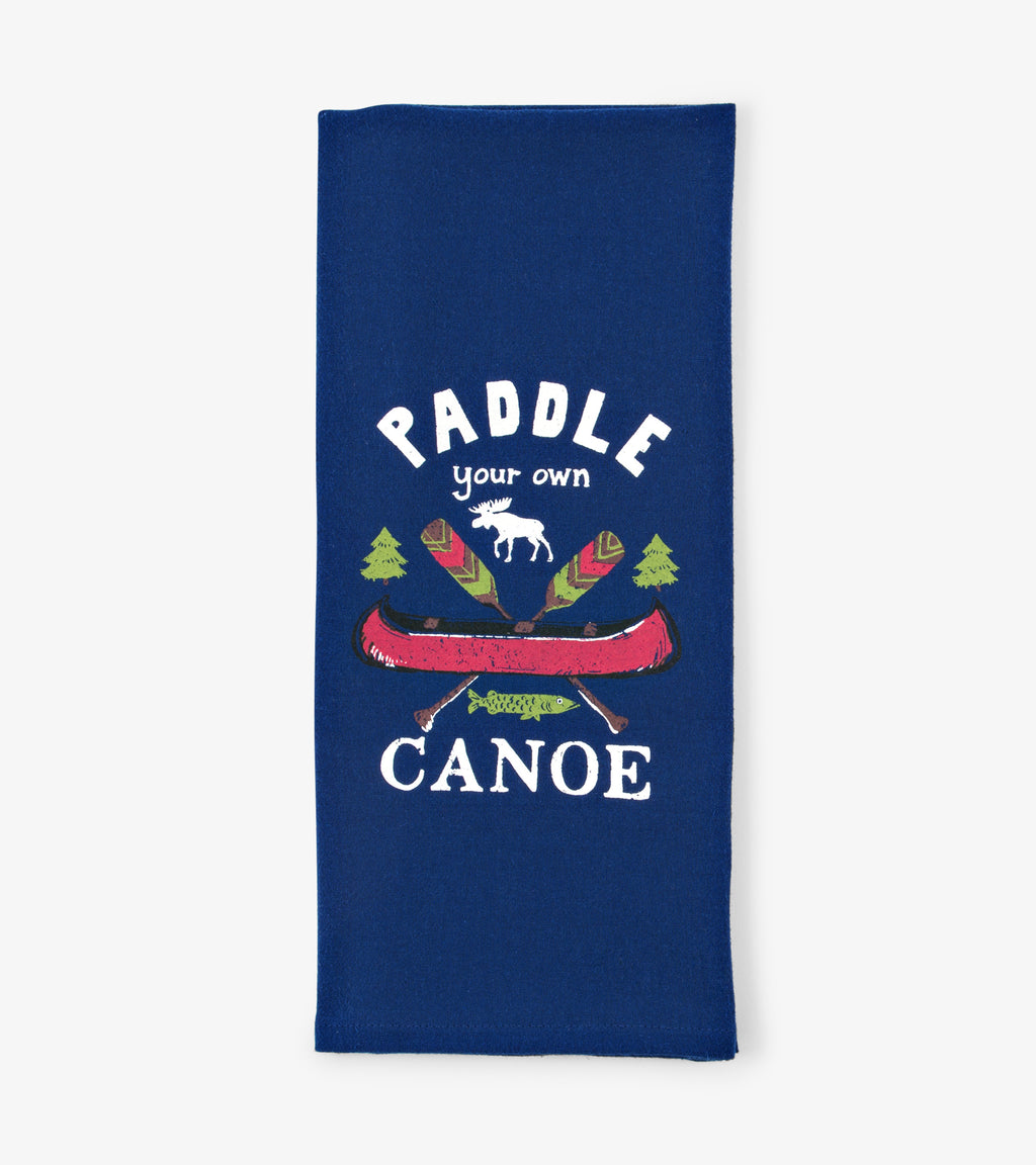 Paddle Your Own Canoe - Tea Towel