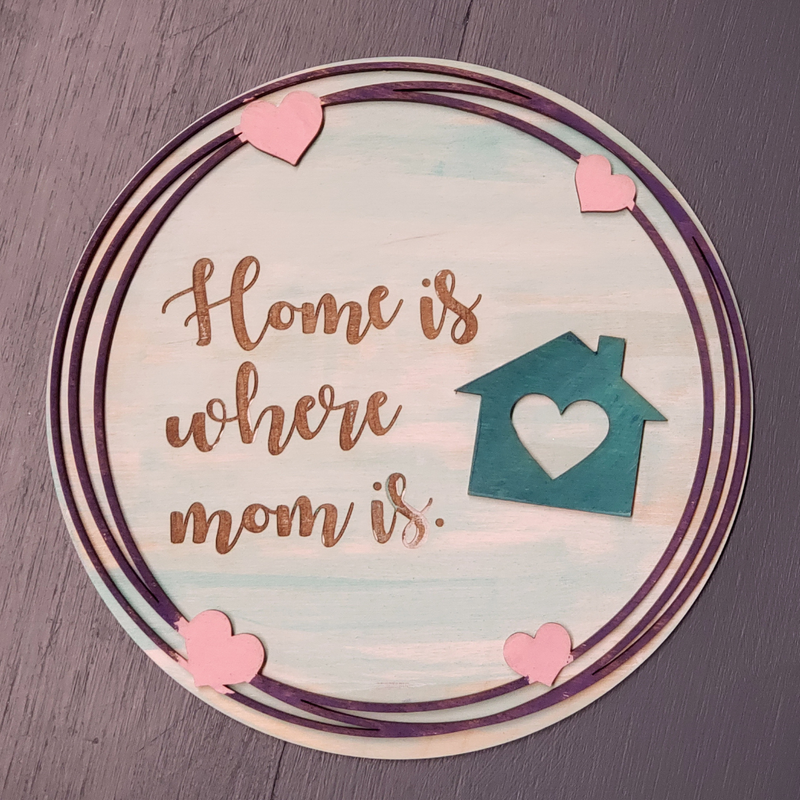 Home is Where Mom is. - Craft Kit