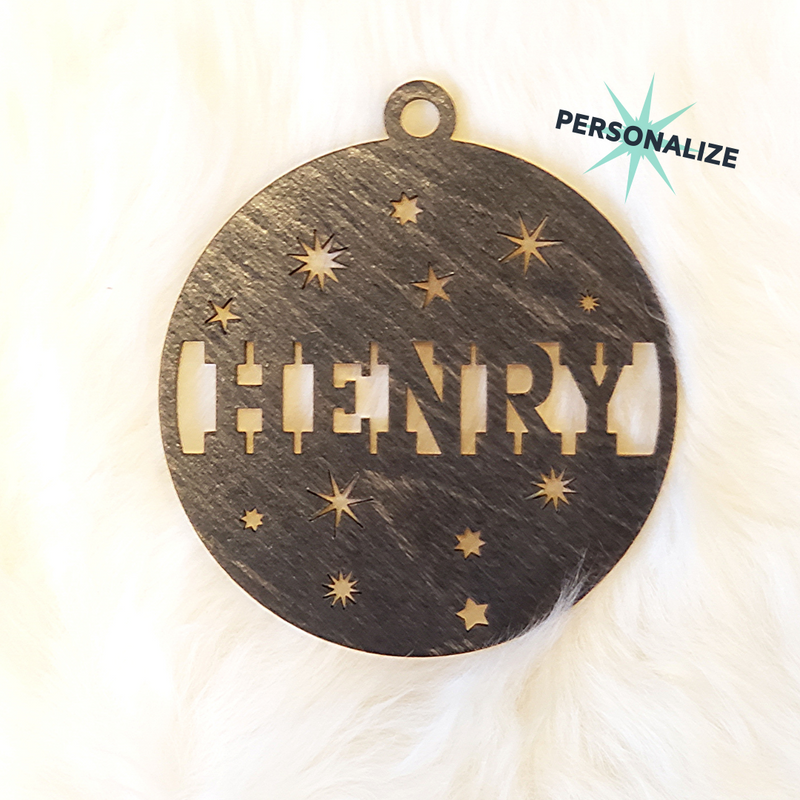 Personalized Henry Design Ornament