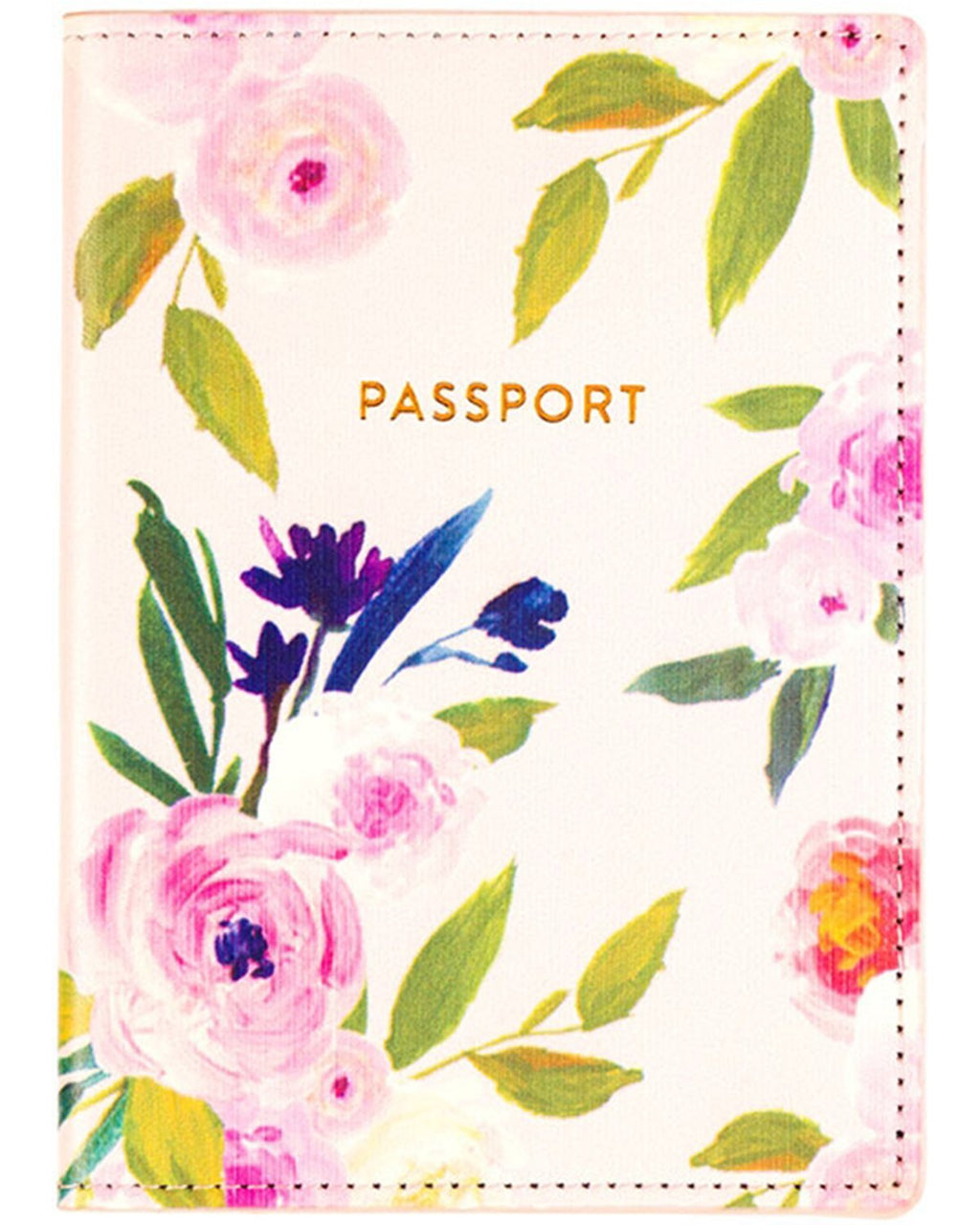 Floral - Passport Case