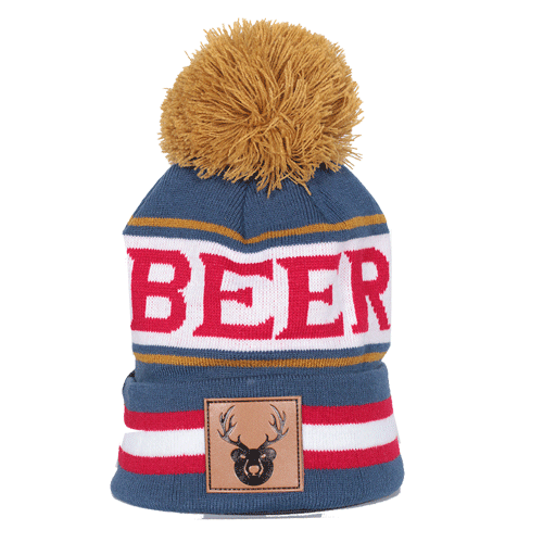 beer winter beanie