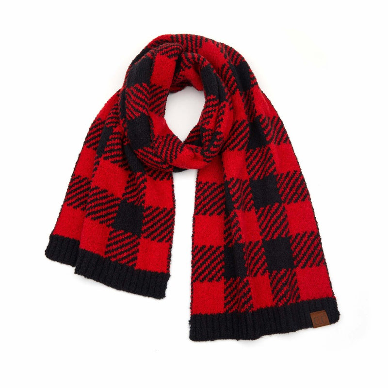 Buffalo Plaid CC Scarf