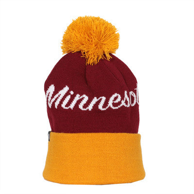 Maroon and Gold MN Beanie