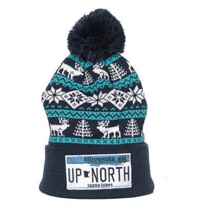 Up North License Plate Beanie