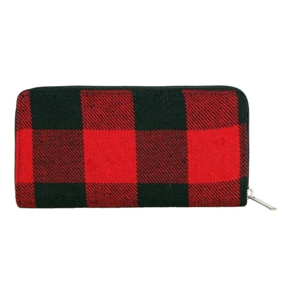 Buffalo Plaid Wallet