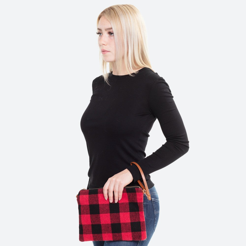 Buffalo Plaid Purse