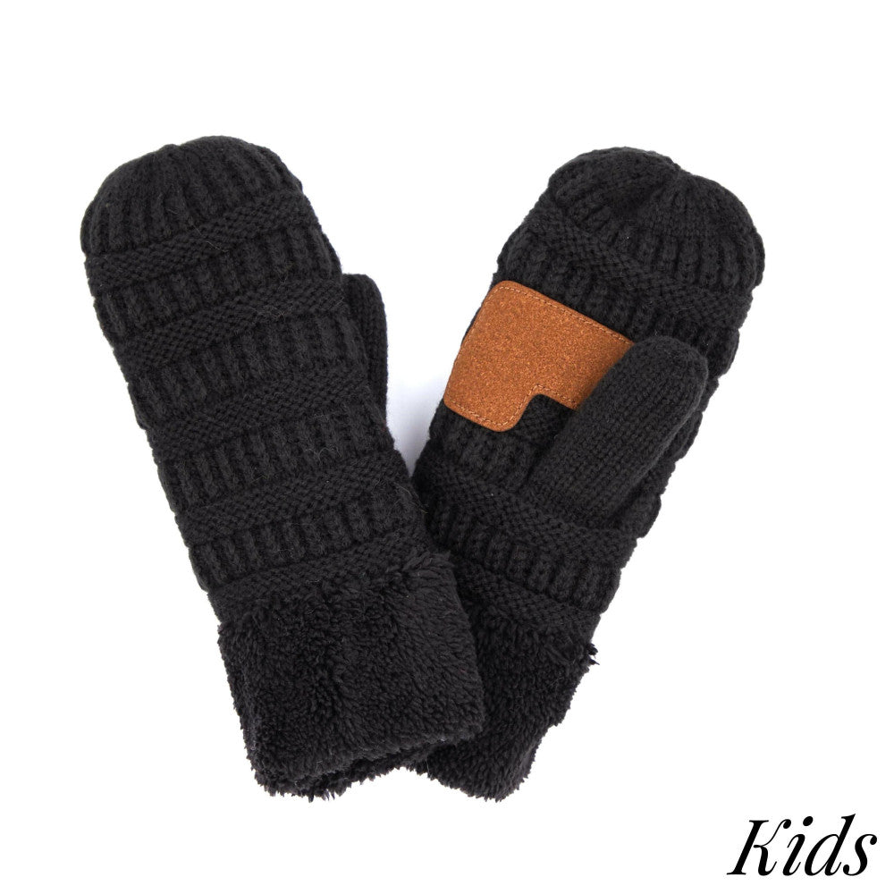 Kids CC Mittens - Multiple Colors