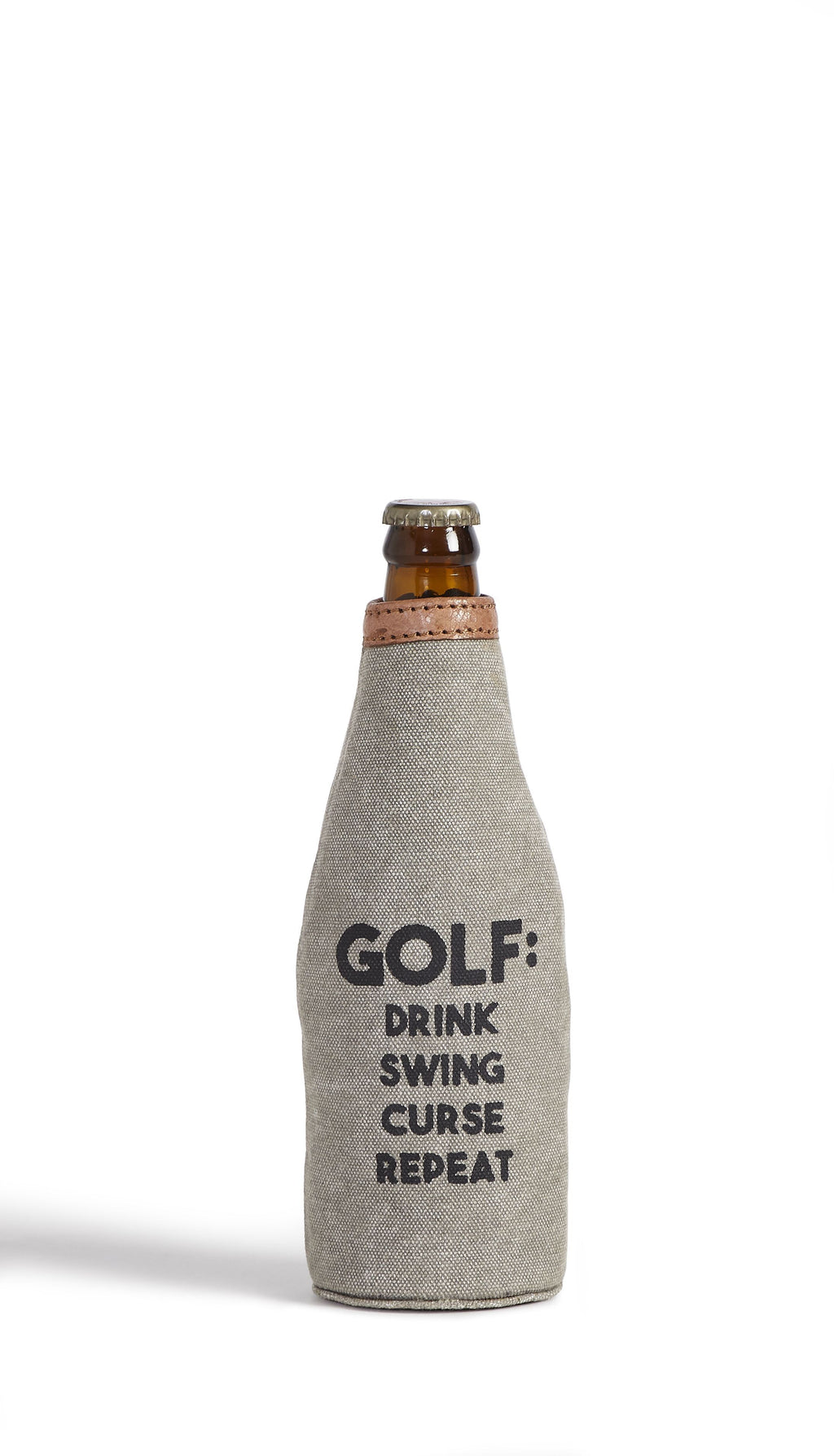 Swing, Curse, Repeat - Bottle Koozie