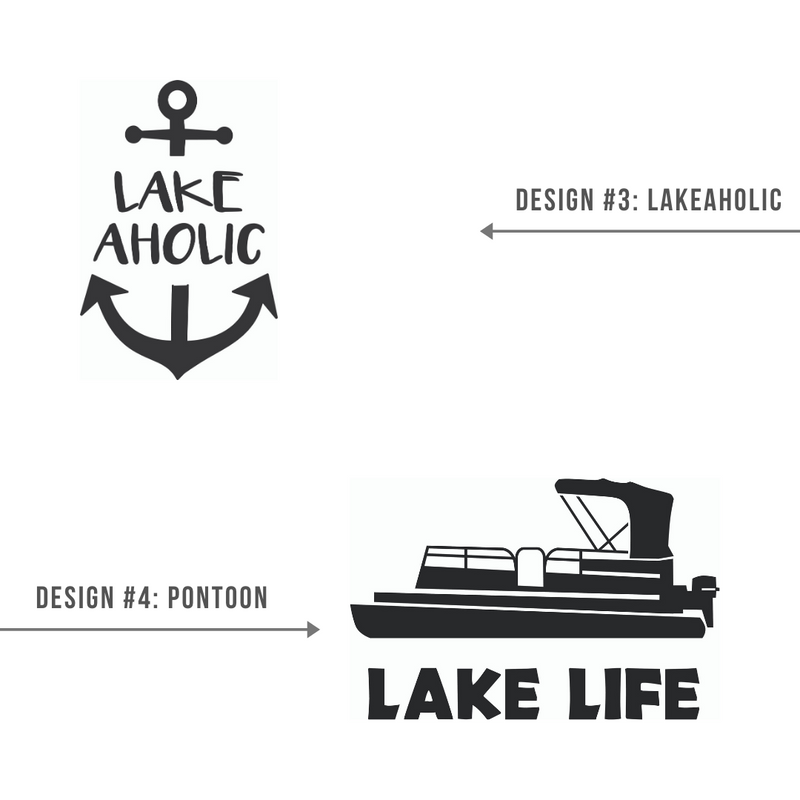 August 5th | Lake/Camping Wooden Signs @ Lost Acres