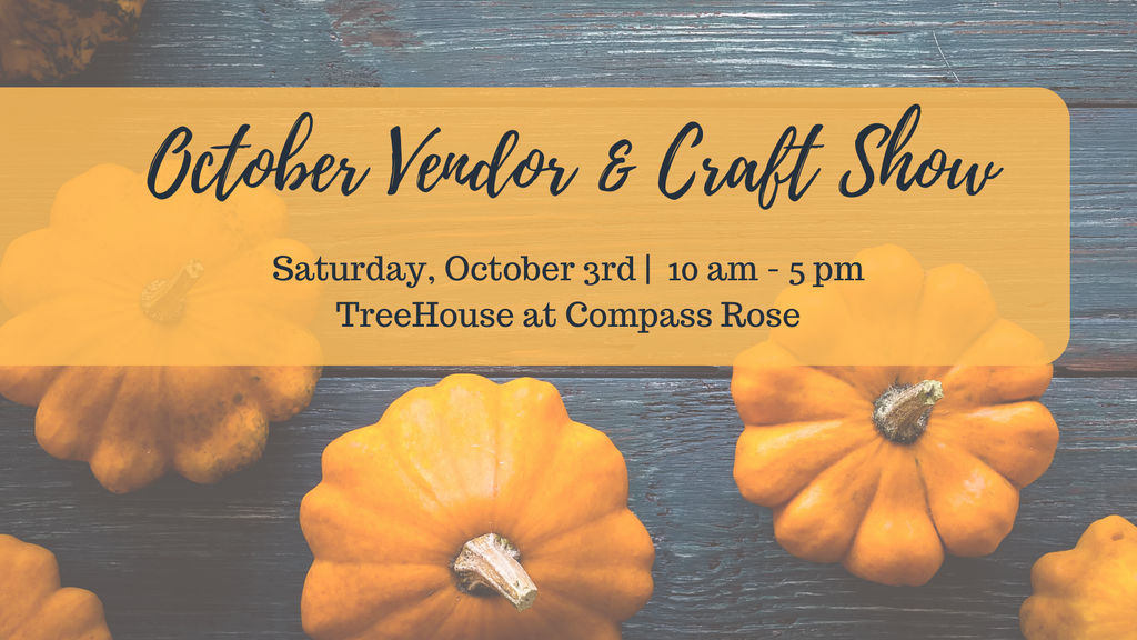 October 3rd | Vendor Show Fee