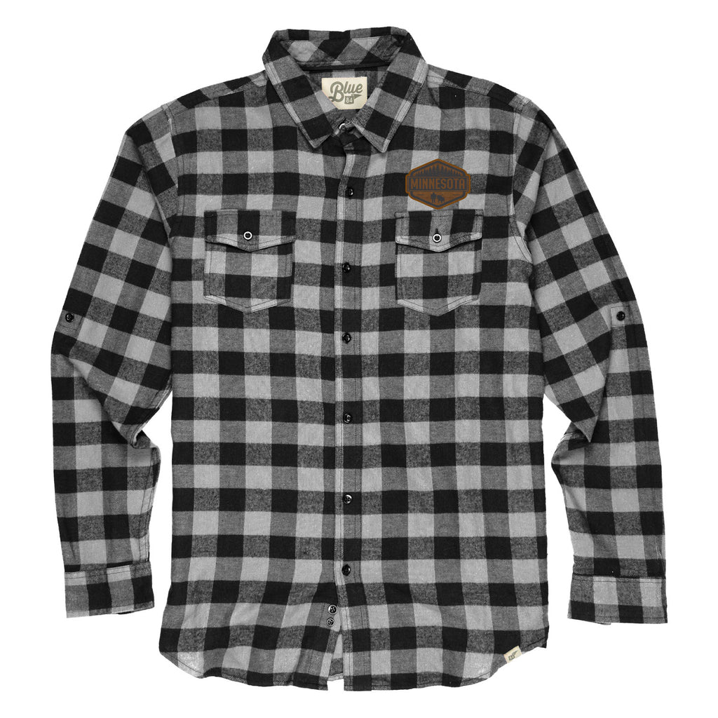 Gray/Black Lumberjack Flannel