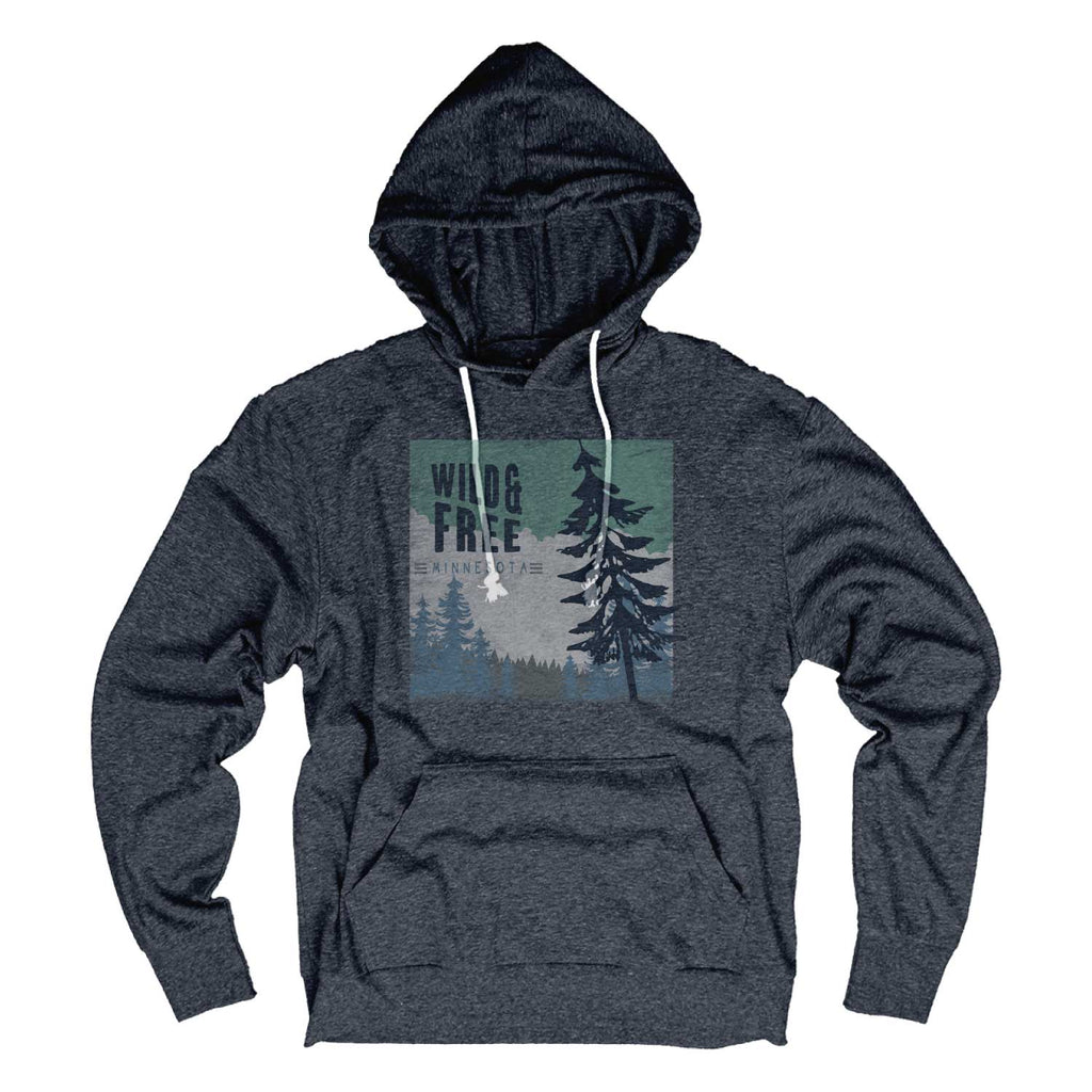 Wild + Free Navy Hooded Long Sleeve