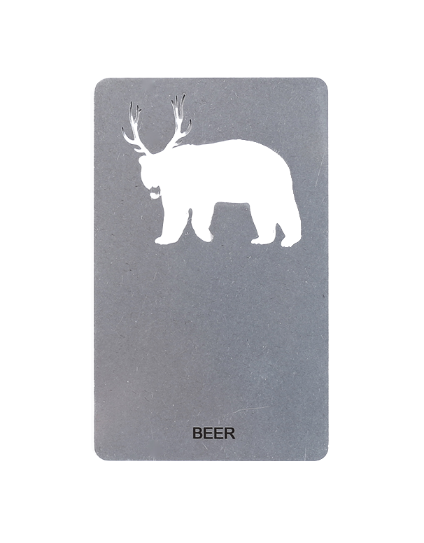 Beer - Wallet Card Bottle Opener