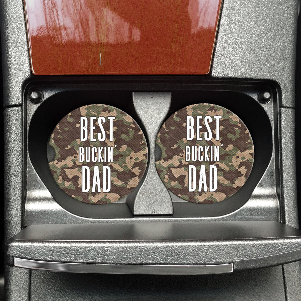 Best Buckin' Dad - Coasters