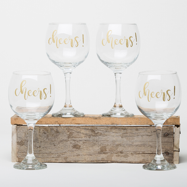 Cheers! - Wine Glasses