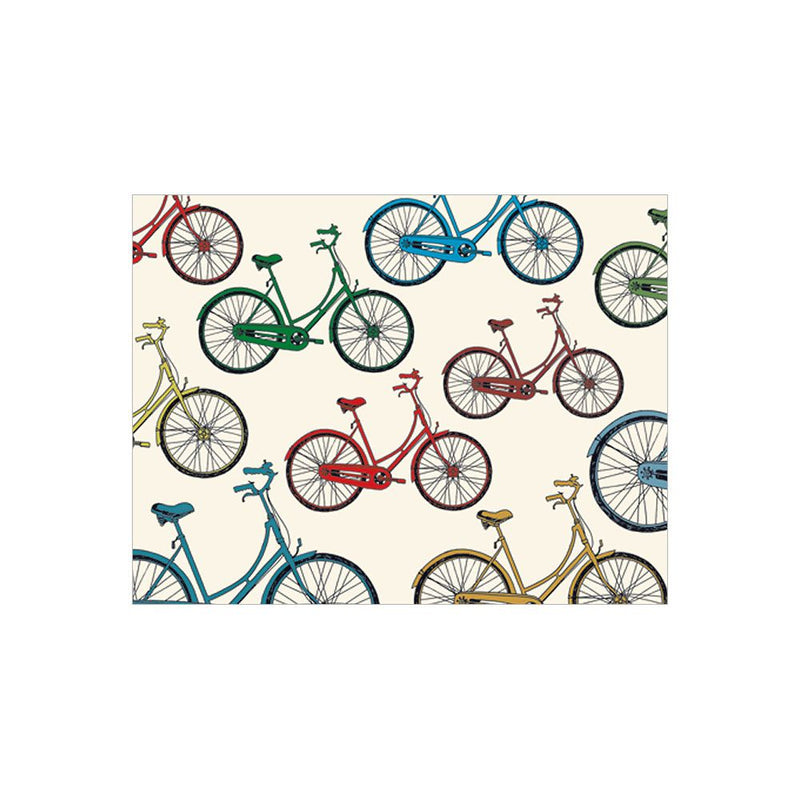 Colored Bicycles - Note Card Set