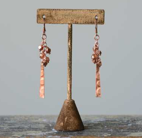 Copper Cyprus Earrings
