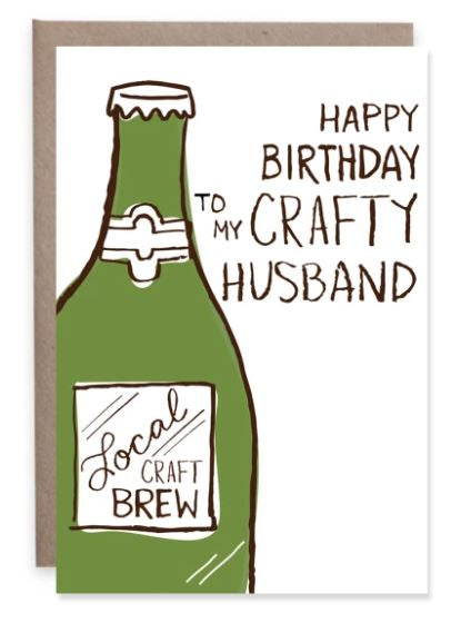 Crafty Husband - Mini Card