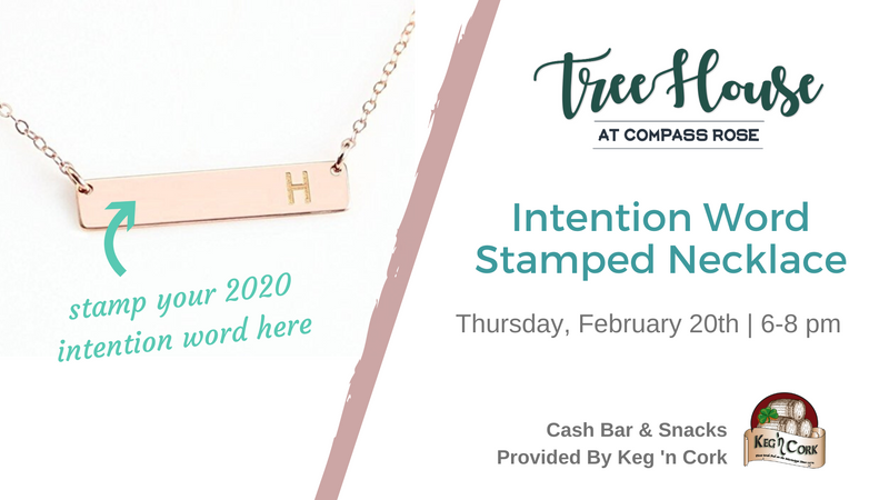 Intention Stamp Necklace