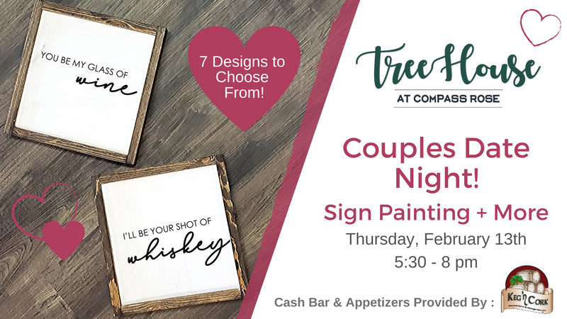 Date Night His/Hers Signs