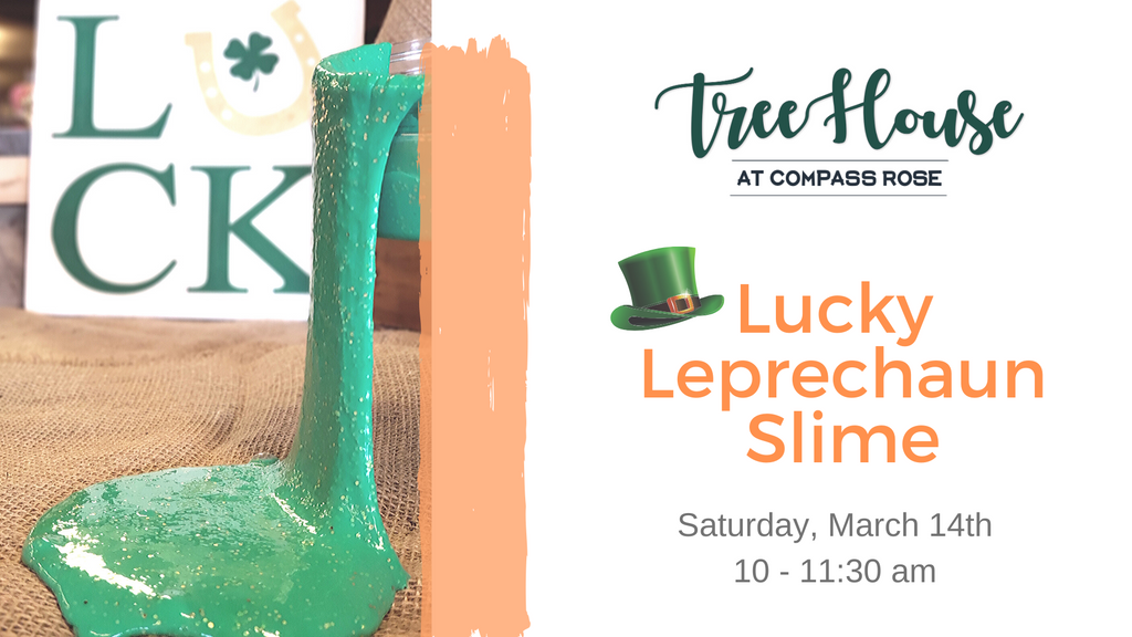Lucky Leprechaun Slime & Other St. Patty's Crafts | March 14th