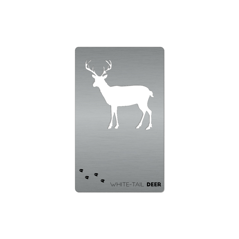Whitetail Deer - Wallet Card Bottle Opener