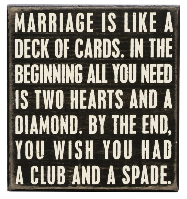 Deck of Cards Sign