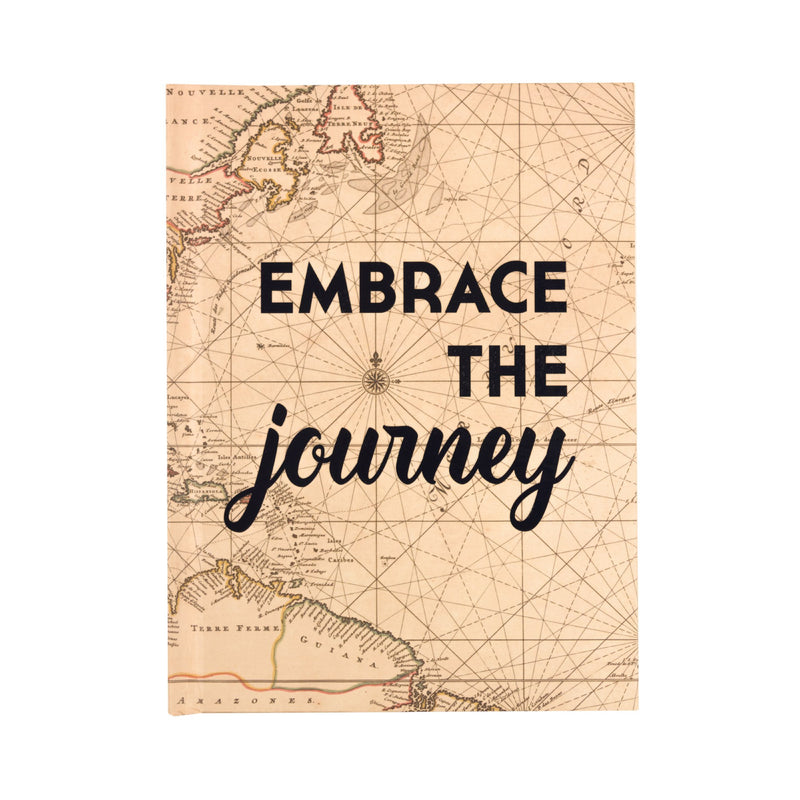 Embrace the Journey - Travel Journal