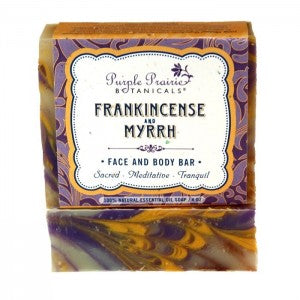 Frankincense & Myrrh - Face & Body Bar Soap