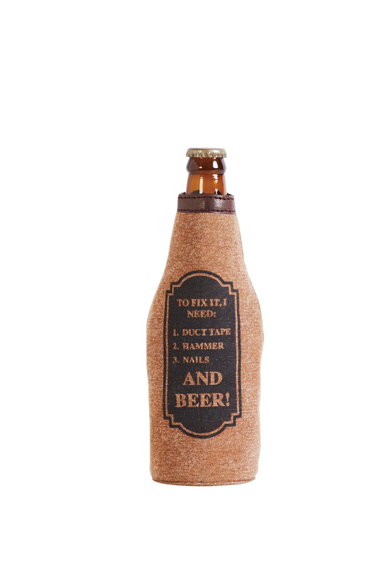 Fixing Bottle Koozie