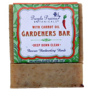 Gardener's Carrot Bar Soap