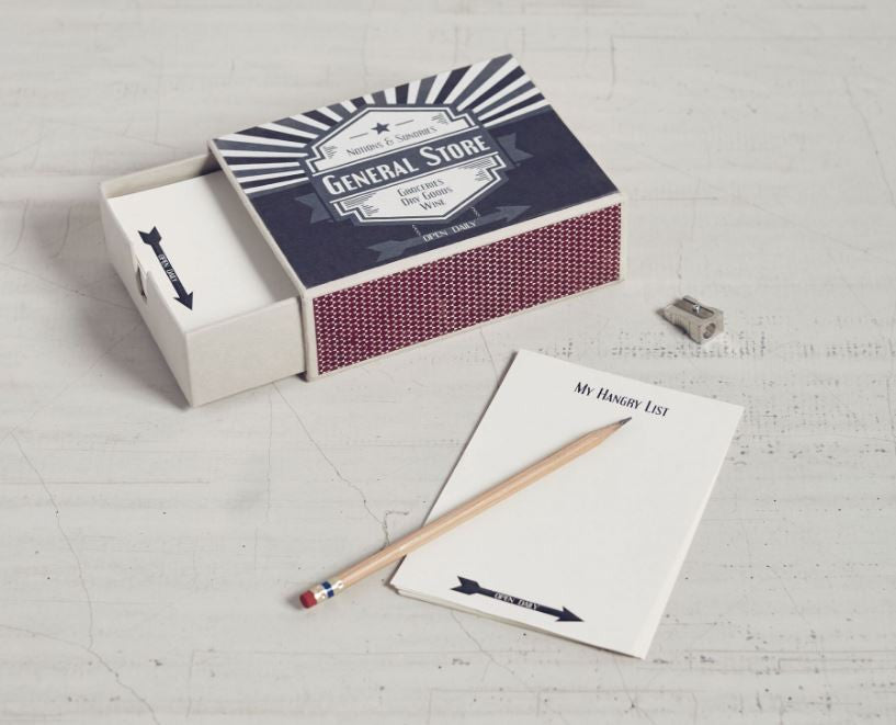 General Store - Matchbox Stationery