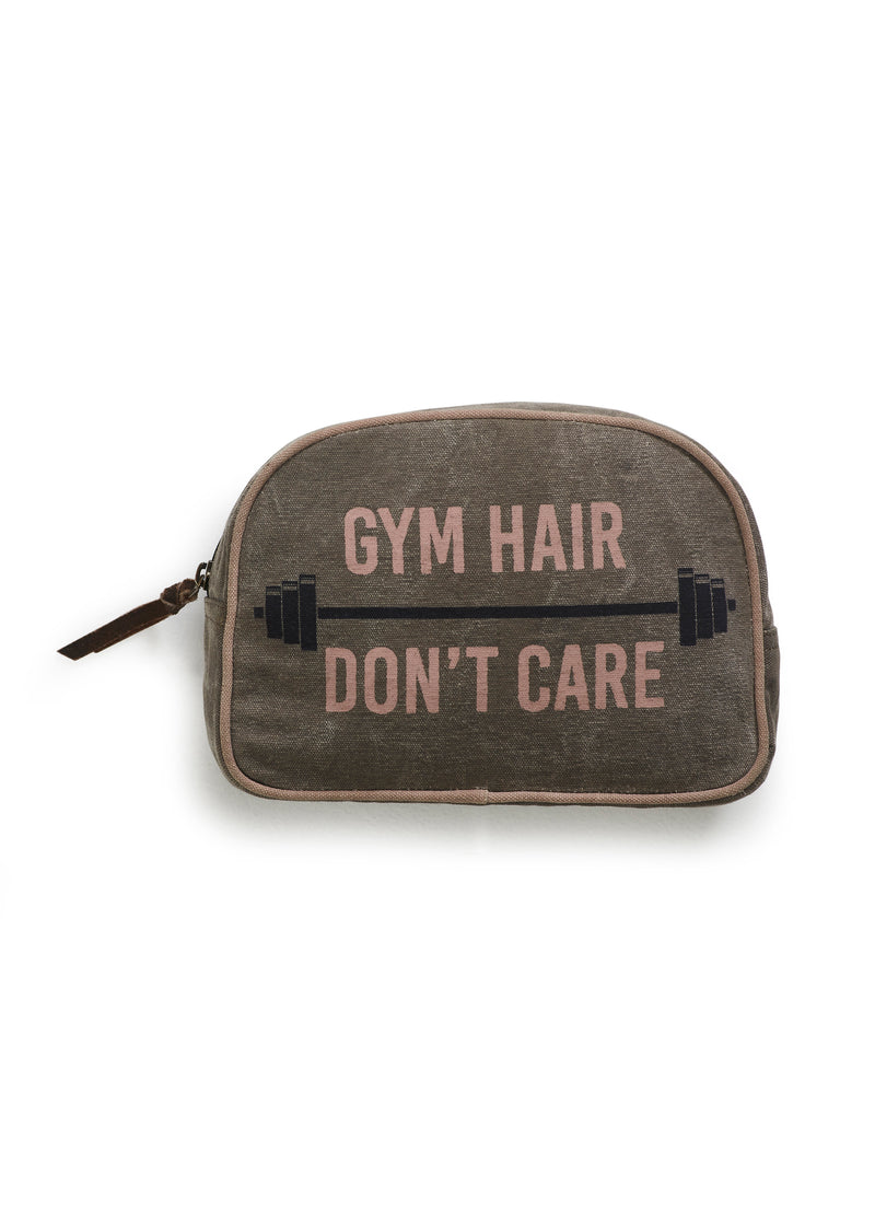 Gym Hair Don't Care Makeup Bag